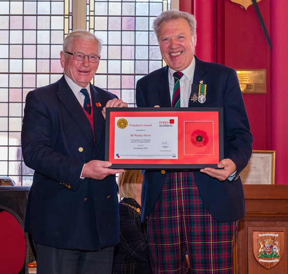 President's Award Winners Inverness C20191025-171451